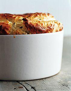 Cauliflower Soufflé with Brown Butter