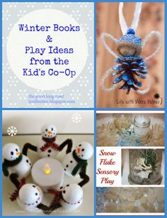Winter Books and Play Ideas from The Kid's Co-Op