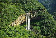 Caracol waterfall near Canela, Rio Grande do Sul, Brasil.