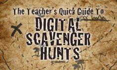 digital scavenger hunt - SCVNGR – A useful free app that lets you create your very own digital scavenger hunts, start to finish.