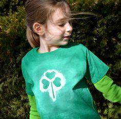 Kid-Made St. Patty's Day T-Shirts