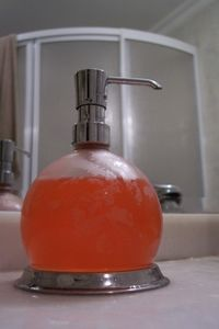 Saving $$--make your own foam soap, although I'm going to try the recipe with liquid  shower soap to see if that works, too.