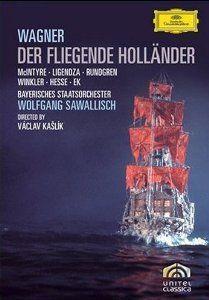 Richard Wagner - Der fliegende Holländer: Donald McIntyre, Catarina Ligendza, Bengt Rundgren, Hermann Winkler, Wolfgang Sawallis... fliegend holländer, richard wagner, donald mcintyr