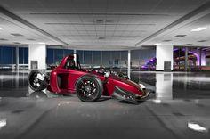 Scorpion Motorsports P6 Motorcycle Reverse Trike - Tobefast