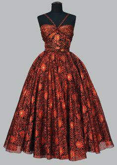 Dress    Traina-Norell, 1950s