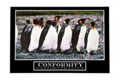 Barney Stinson's Conformity Poster | Cool TV Props