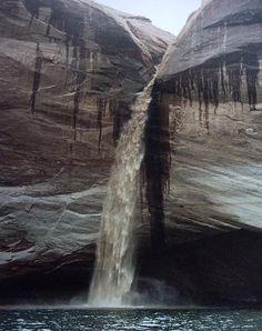 Waterfall at Lake Powell