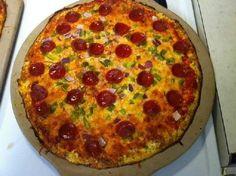 Gluten Free Cauliflower Pizza Crust to try