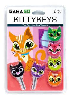 Cat Fashion - A Lock to Love Key Cap Set