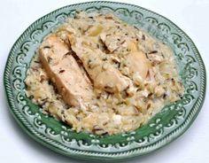 Slow Cooker Chicken w/ Wild Rice