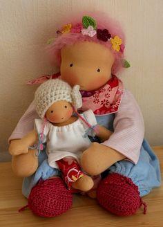 dollscloth beauti, waldorf doll, poupé waldorf, poppen maken, zonnekind poppen