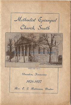 Dresden TN 1926-27 Methodist Episcopal Church South