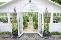 Just a little potting shed. :) Grand Garden Room l Conservatory l Green House
