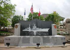 USS Indianapolis (CA-35) memorial, Indianapolis, Indiana