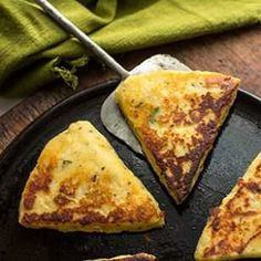 Potato-Rosemary Skillet Flatbreads  Recipe
