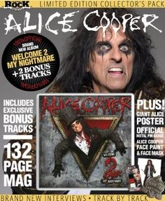 Read all about it! Alice Cooper releases 'Welcome 2 my Nightmare' on newsstands and iPad.