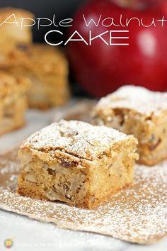 Apple Walnut Cake |