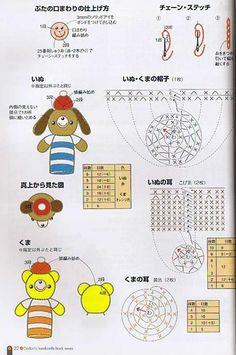 Amigurumis Web - Patrones gratis de amigurumis - Amigurumis patterns - Patito amigurumi. Free amigurumis patterns.
