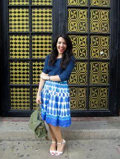Wardrobes I Met and Liked: Sara: blue in spades