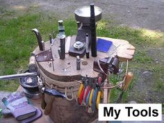 Tool set up. I need to do something like this.