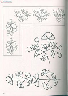 Dibujos para bordar. Embroidery patterns os samples