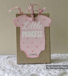 Baby Onesie, Baby Onesie Die-namics, Paper Bag Treat Box Die-namics, Swiss Dot Stencil - Melody Rupple #mftstamps