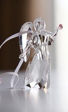 crystal angel, beauti angel, angel imag, swarovski crystals