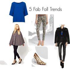 5 Key Fall Trends #fallfashion