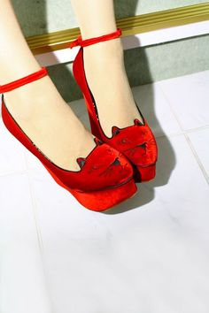 Charlotte Olympia. Meow.