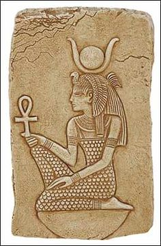 Isis, moon goddess