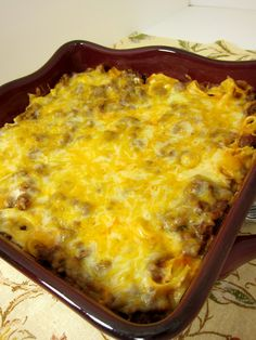 Sour Cream Noodle Bake