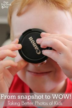 From Snapshot to WOW! Learning to Take Better Photos of Kids - One Perfect Day