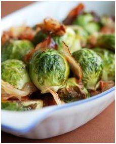 Gluten Free Braised Brussel Sprouts w/ Pancetta