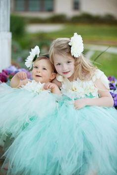 Cuties!  Flower Girls & Ring Bearers - Flowers - Girl