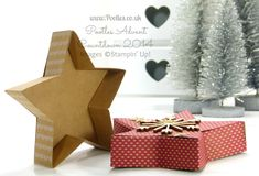Stampin' Up! UK Demonstrator Pootles - Stampin' Up! Many Merry Stars Kit Plus Opening Version and Put Together Open Version