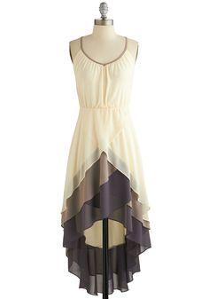 fashion, high low dresses, rehearsal dinners, tier dress, cloth