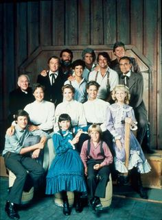 Little House On the prairie ....watched it all the time.  Prairie still