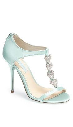 Adorable shoe from Betsey Johnson. In pink, white and blue.