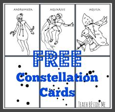 FREE Constellation Cards!