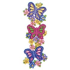 Mary Maxim - Butterfly Trio - Plastic Canvas Kits - Plastic Canvas - Crafts