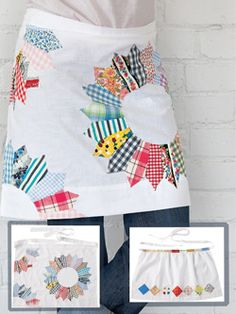 Projects by Erika Mulvenna  These 3 quilt patterns featured in Quilty September/October 2013 feature appliqué dresen plates, diamonds and half-square triangles. Choose which one you love the best and make it!