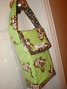 diaper clutch (great for quick trips)