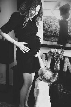 beautiful mom  daughter photo