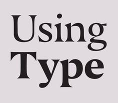 Processes #fontshop #usingtype