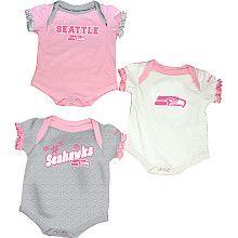 Reebok Seahawks Infant Set