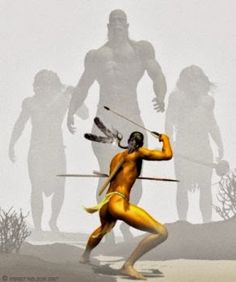 Sioux Indians Tell of a Former Giant Race Destroyed by The Great Spirit