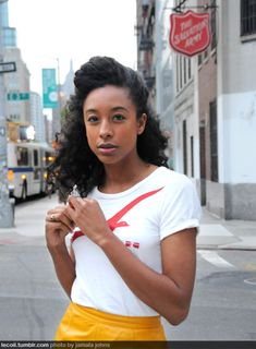 corinne bailey rae in nyc {via le coil}