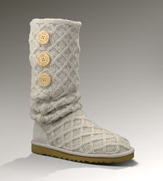#17holiday (UGG Australia women's Lattice Cardy boot in Sand)