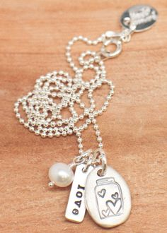 Sterling my treasure necklace from Lisa Leonard