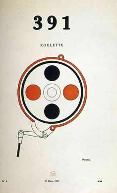 Francis Picabia 391 Wheel